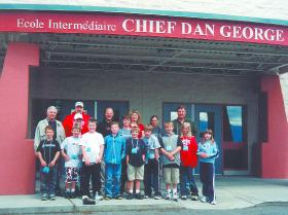 Unsworth Elementary's Grade 5 chess team took first place in the Grade 4/5 Division at the Second Annual Chief Dan George Chess Tournament on May 29.